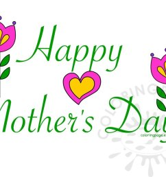 happy mother s day card clipart [ 1122 x 826 Pixel ]