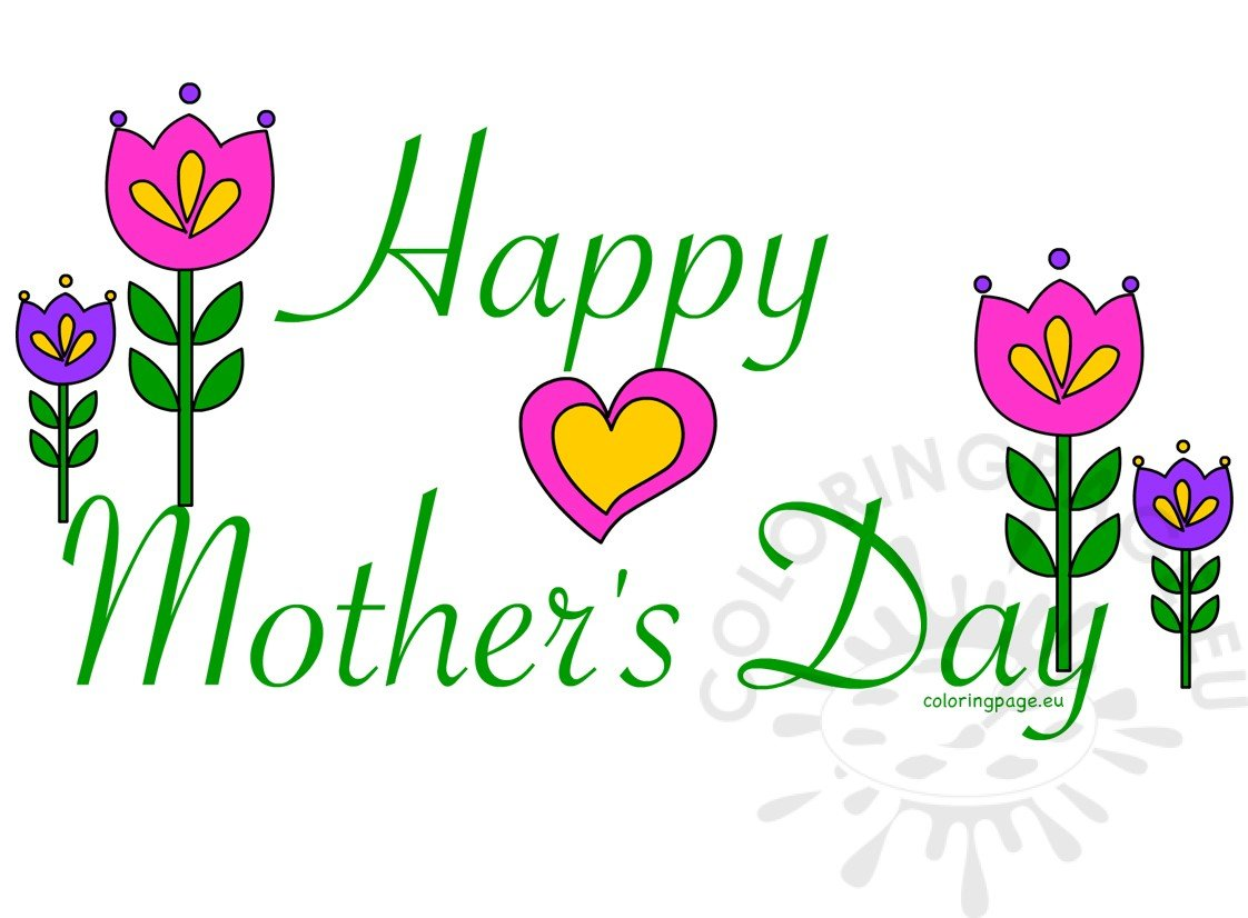 hight resolution of happy mother s day card clipart