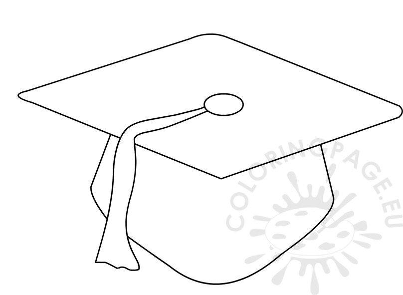 Preschool graduation cap pattern