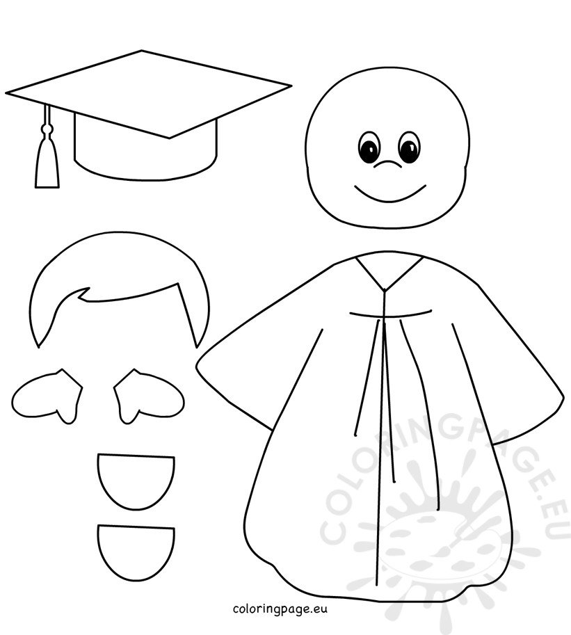 Preschool Graduation Boy patterns