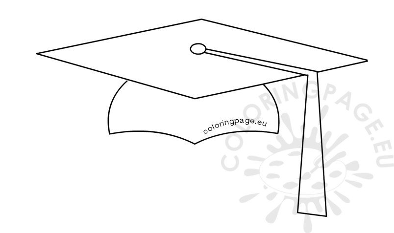 Student Graduation Cap shape