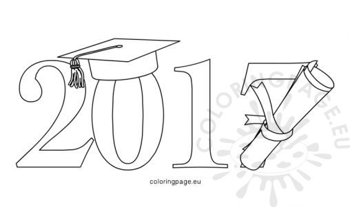 Diploma Scroll Sheet Coloring Pages