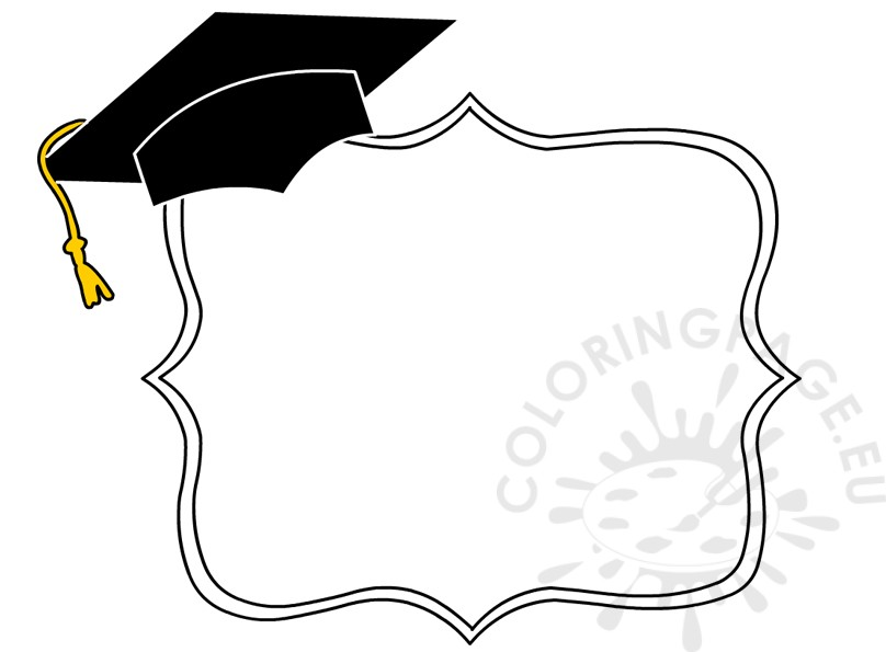 Graduation Decorative Border Preschool Clipart