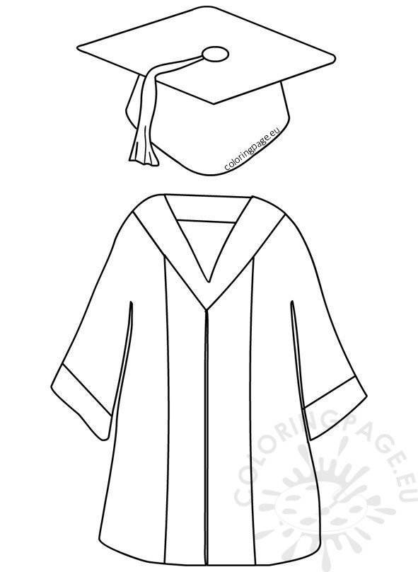 Preschool Graduation Cap and Gown