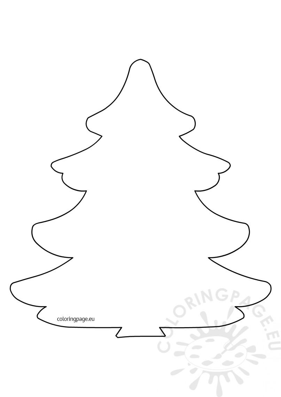 Large Christmas tree pattern