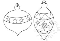 Top 28 - Christmas Decorations To Colour In - christmas ...