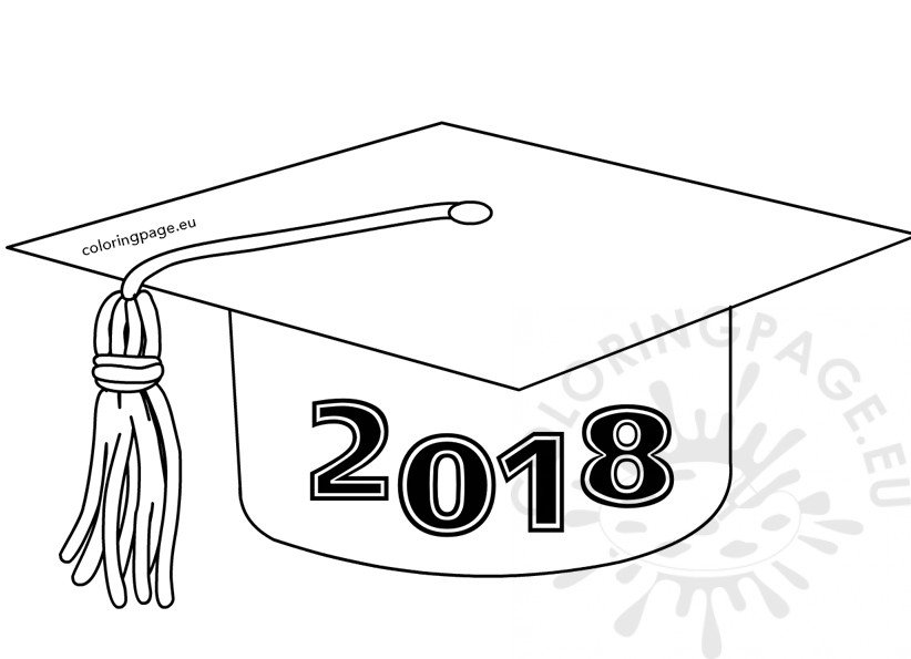 Class of 2018 Graduation Cap template