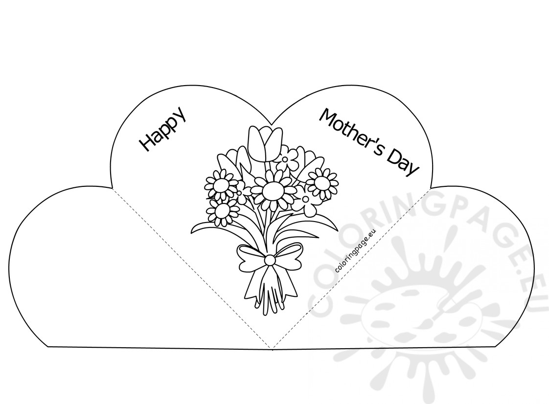 Popup Heart Greeting Card Happy Mother's Day