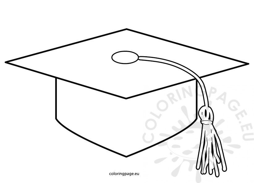 Printable Graduation Cap pattern