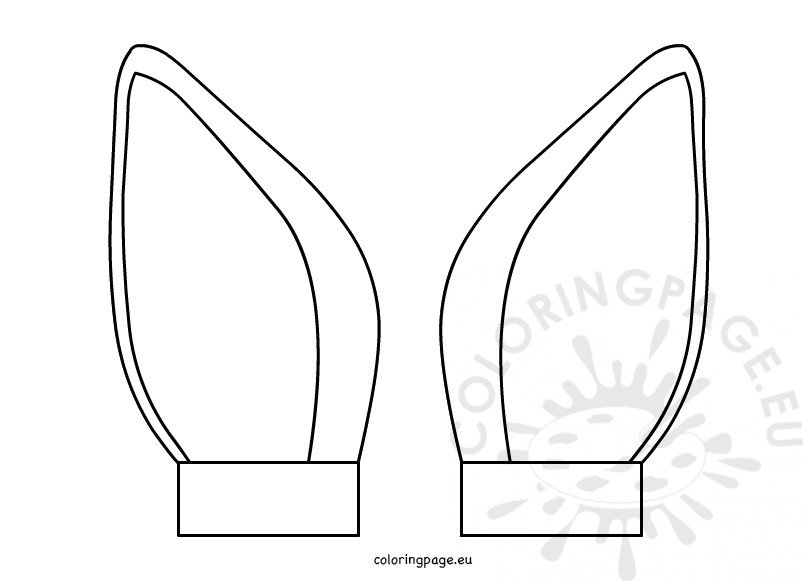 Printable Cat Ear Template Cut Out