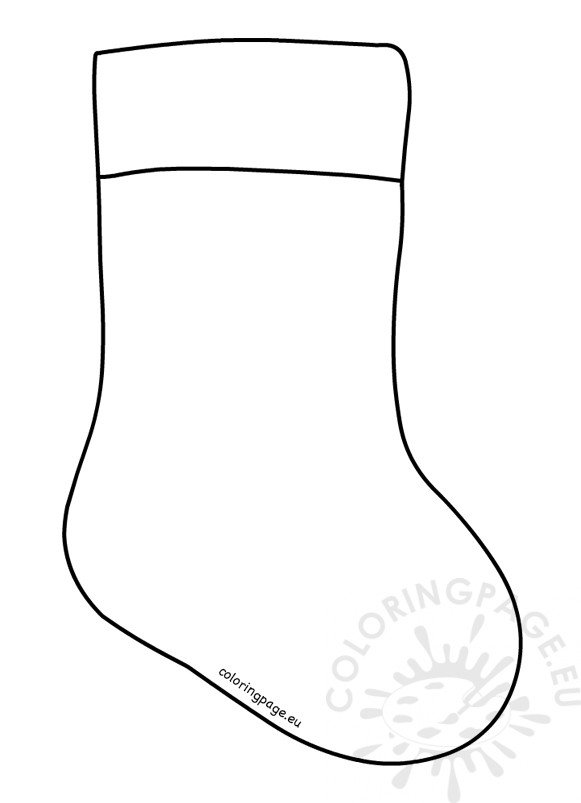 Christmas Stocking Template printable