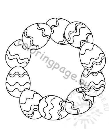 wreath template printable # 25