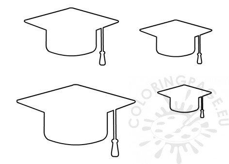 Graduation Cap Craft Shapes