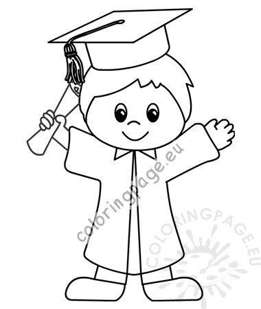 Graduation Ceremony Boy Preschool Graduation