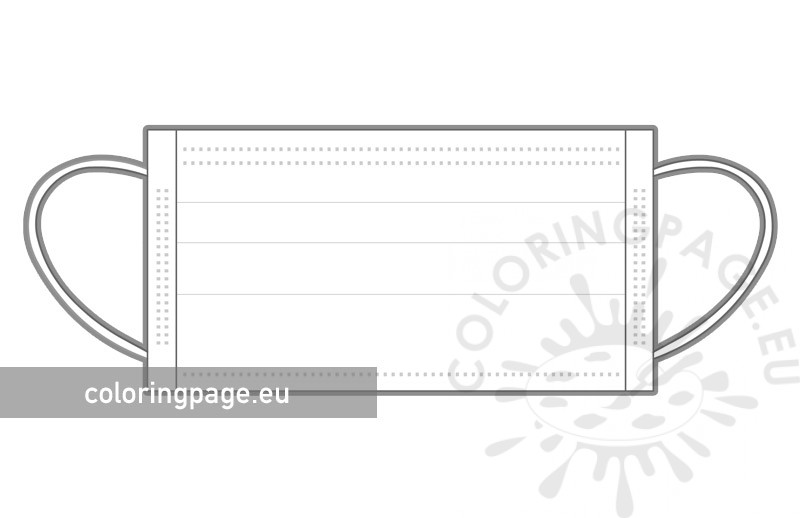 Covid mask template printable