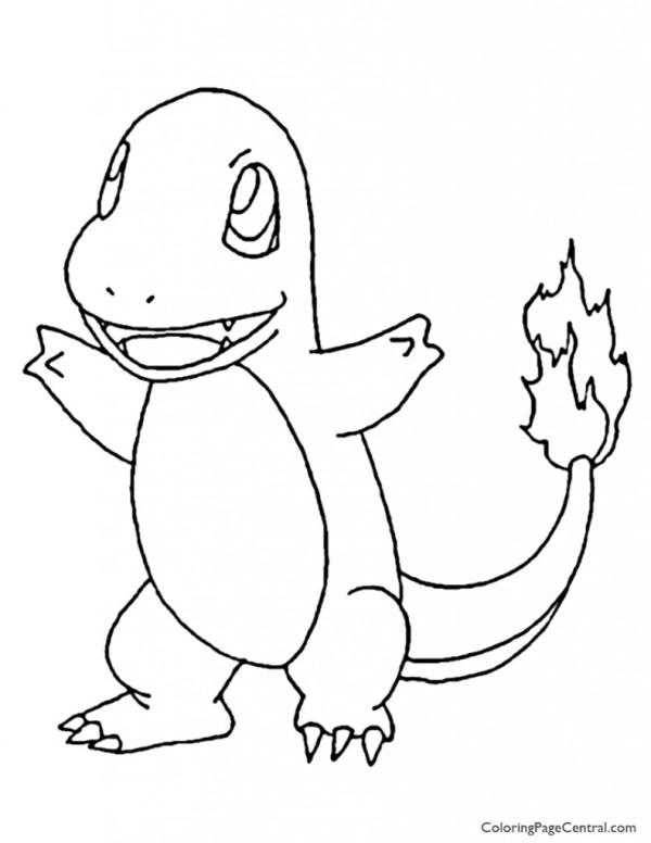 20+ Pokemon Charmander Coloring Page Se Ideas and Designs
