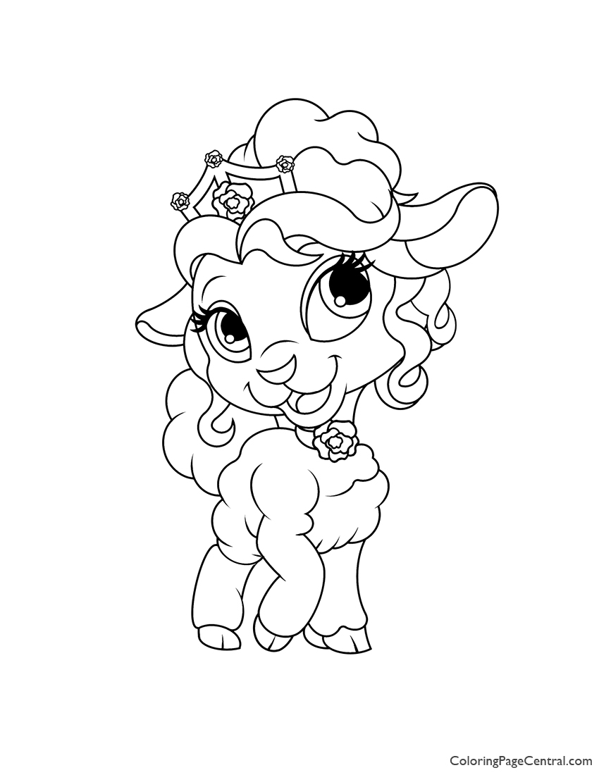 Palace Pets Page Coloring Page Coloring Page Central
