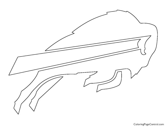 NFL Buffalo Bills Coloring Page  Coloring Page Central