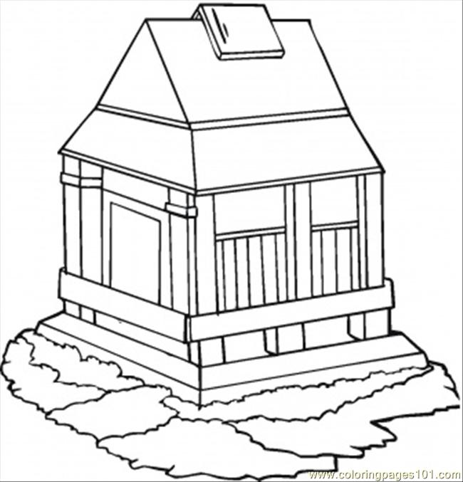 Big Ben Clock Tower Coloring Page Coloring Pages