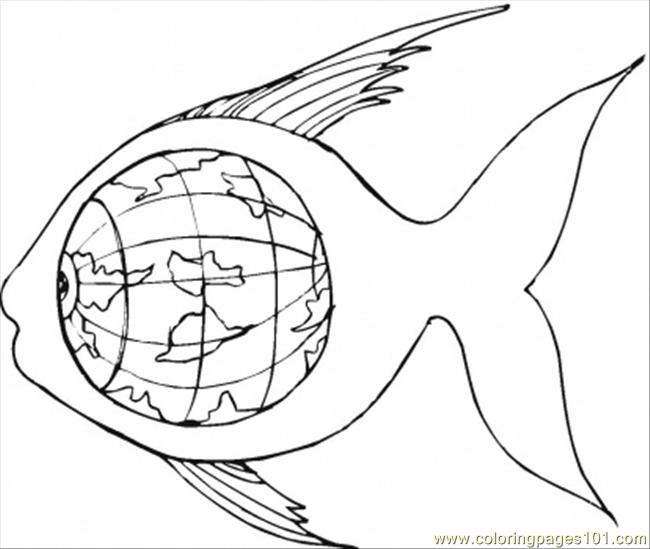 Inside The Earth Page Coloring Pages