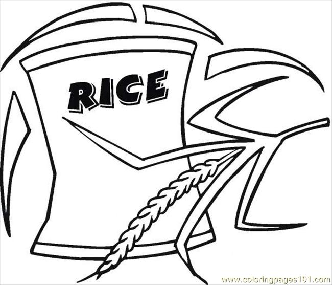 Free coloring pages of grain products