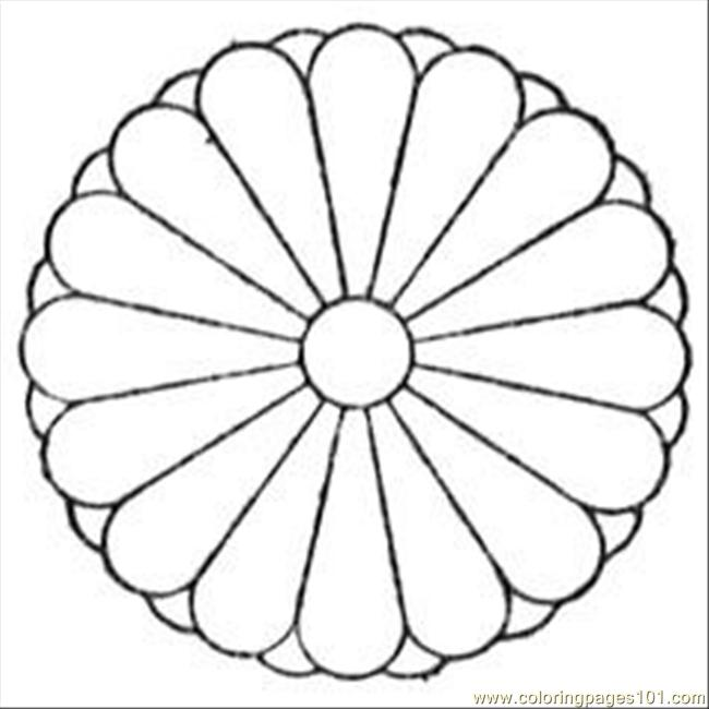Chrysanthemum Coloring Pages and Printables
