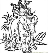 Coloring Pages Indian Elephant (Countries > India) - free ...