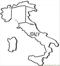 FREE Italy Coloring Pages   218x200