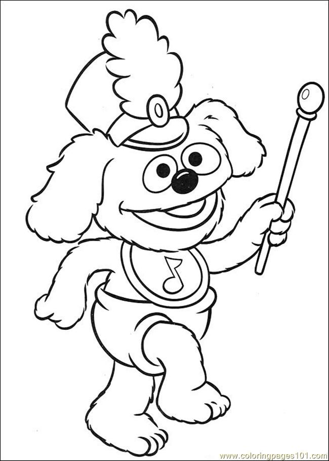 coloring pages muppet babies 39 (cartoons > muppet babies