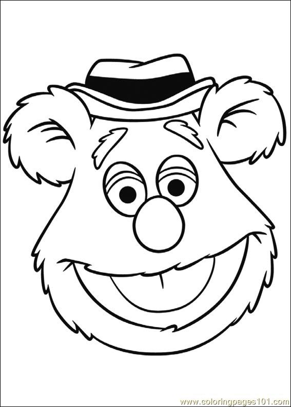 Coloring Pages Muppets 04 (Cartoons > Muppet Babies