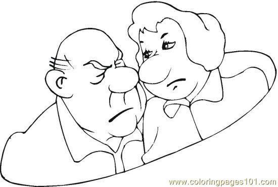 Feeling Faces Coloring Pages Sketch Coloring Page