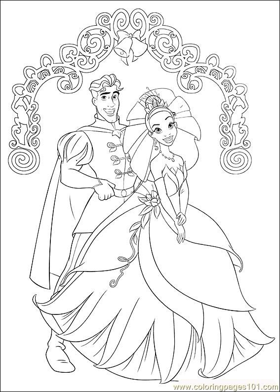 Coloring Pages Princess Frog 60 (Cartoons > The Princess