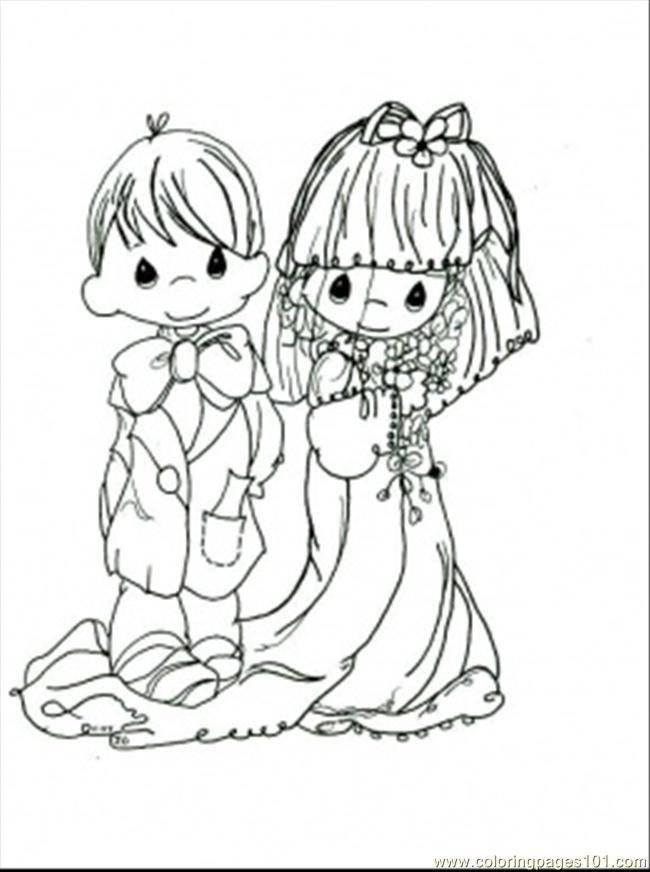 Wedding Ceremony Color Coloring Pages