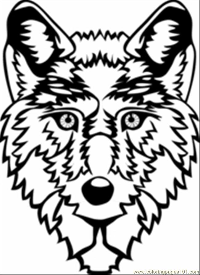 Printable Wolf Coloring Sheets - Novocom.top