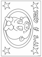 Kleurplaat Baby In Wieg   ColoringPages234   ColoringPages234