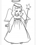 Angels Free printable coloring pages for children