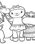 Doc McStuffins Download free coloring pages for kids