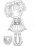 Lalaloopsy Free printable coloring pages for children