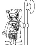 Lego Ninjago printable coloring pages online for kids