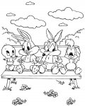 Looney Tunes Download and print free coloring pages for kids