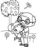 Ni Hao, Kai-Lan Download and print free coloring pages for