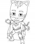 PJ Masks Free Coloring Pages for Kids