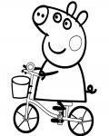 Peppa Pig Download free coloring pages for kids