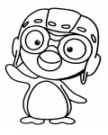Pororo the Little Penguin Printable Coloring Pages for Kids