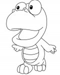 Pororo the Little Penguin printable coloring pages online