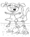 Rugrats Download Coloring Page for your Little Ones