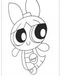 The Powerpuff Girls Online Coloring Pages for boys