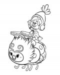 Trolls Coloring pages for kids free, printable and online