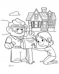 Up Free coloring pages for girls
