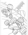 Wreck-It Ralph Coloring Pages for children